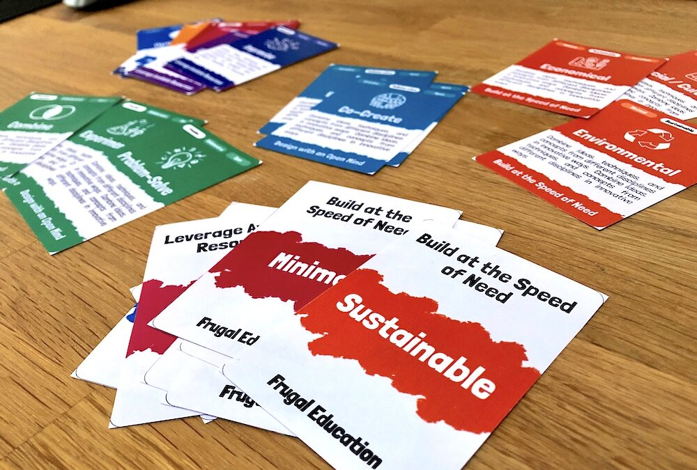 Prototyping Frugal Education Cards